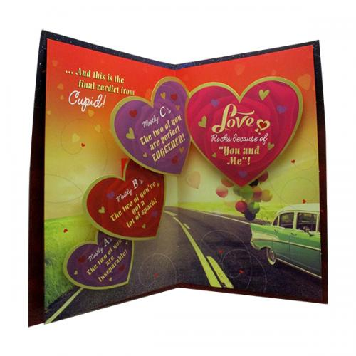 Love Quiz Greeting Card - (ARCH-457)