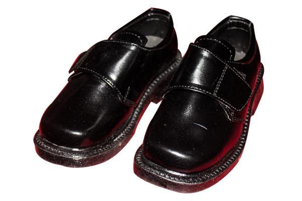 Black Kids School Shoe (TK-KS-001)
