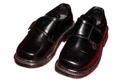 Black Kids School Shoe (TK-KS-001)