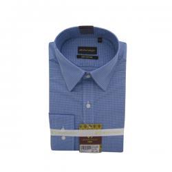 Men's Buttondown Collar Check Shirt - (UV-001)