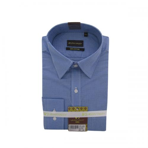 Men's Buttondown Collar Check Shirt - (UV-001)