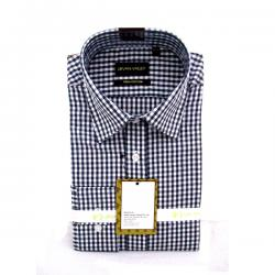 Men's Buttondown Collar Check Shirt - (UV-003)