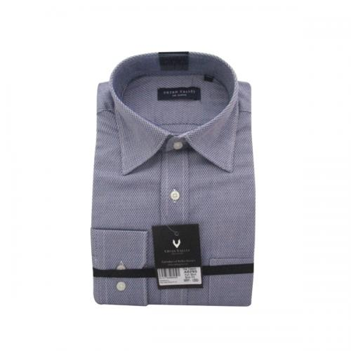 Men's Buttondown Collar Check Shirt - (UV-007)
