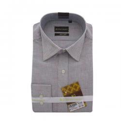 Men's Buttondown Collar Check Shirt - (UV-008)