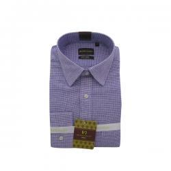 Men's Buttondown Collar Check Shirt - (UV-009)