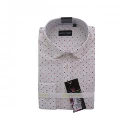 Men's Buttondown Collar Spotted Shirt - (UV-006)
