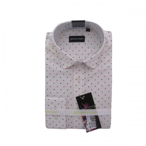 Men's Buttondown Collar Spotted Shirt - (UV-006)