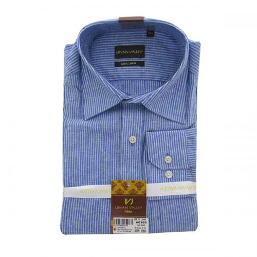 Men's Buttondown Collar Stripped Shirt - (UV-010)