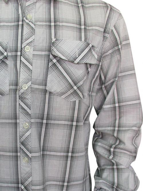 Men's Casual Shirt - Full Shirt, Slim Fit - (A0258)