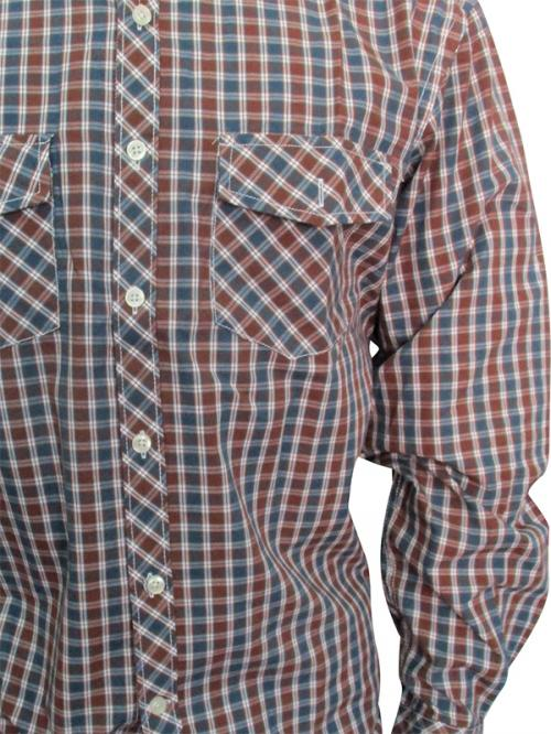 Men's Casual Shirt - Full Shirt, Slim Fit - (A0264)