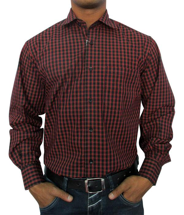 Men's Formal Shirt - 100% Cotton - Full Shirt, Refular Fit - (A0256)