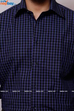 Men's Formal Shirt - 100% Cotton - Full Shirt, Slim Fit - (A0255)
