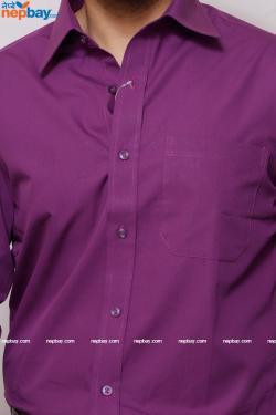 Men's Formal Shirt - 100% Cotton - Full Shirt, Slim Fit - (A0361)