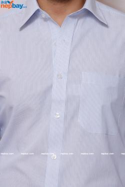 Men's Formal Shirt - 100% Cotton - Full Shirt, Slim Fit - (A0363)
