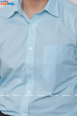 Men's Formal Shirt - 100% Cotton - Full Shirt, Slim Fit - (A0385)
