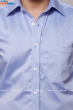 Men's Formal Shirt - 100% Cotton - Full Shirt, Slim Fit - (A0387)