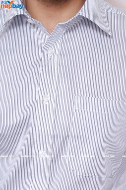 Men's Formal Shirt - 100% Cotton - Full Shirt, Slim Fit - (A0467)
