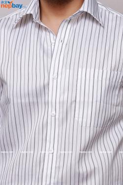 Men's Formal Shirt - 100% Cotton - Full Shirt, Slim Fit - (A0396)