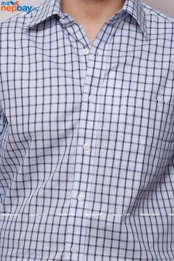 Men's Formal Shirt - 100% Cotton - Full Shirt, Slim Fit - (B0094)