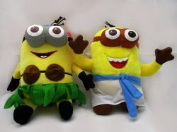 Minons Plush Toys Doll Despicable me 2 Minion Stuffed Toys Yellow Children Birthday Gift for Kids Juguetes - (ARCH-256)