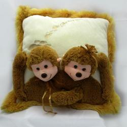 Monkey Cushion Pillow - (ARCH-266)