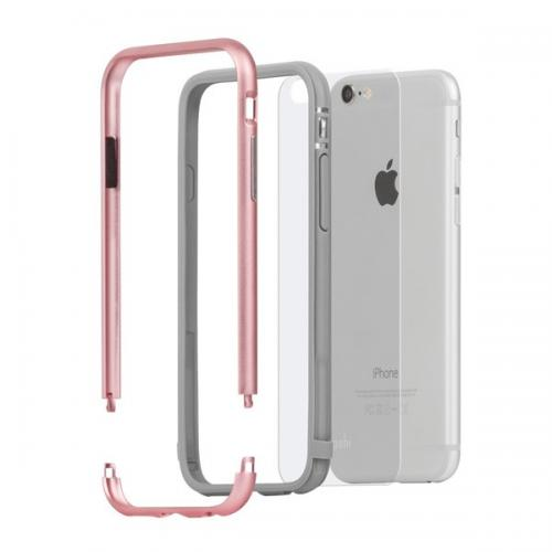 Moshi Iglaze Luxe Metal Bumper Case For iPhone 6/6s Plus - (AIP-054)