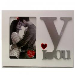 Mr. & Mrs. LED White Photo Frame Mr. & Mrs. LED White Photo Frame MR. & MRS. LED White Photo Frame - (ARCH-435)