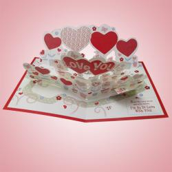 My Love For You Grows More & More Card - (ARCH-469a)