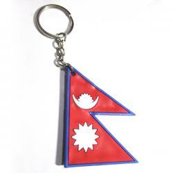 Nepali Flag Key Chain - (TP-082)