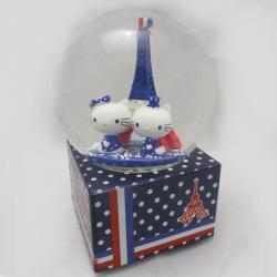 New Designed Glass Ball With Eiffel Tower Inside For GF/BF Gifts- (ARCH-210)