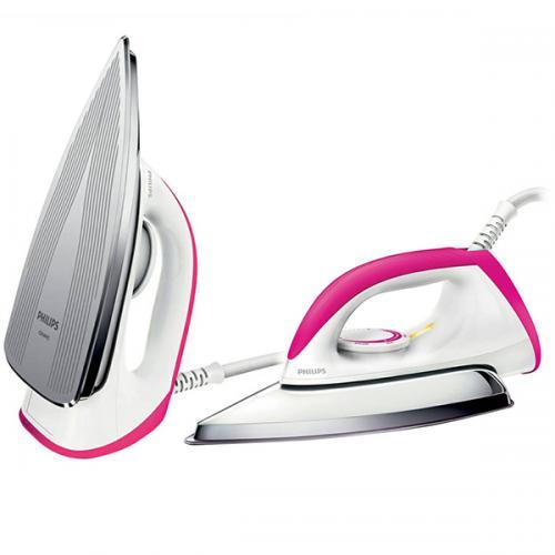 Philips Setrika HD1173/40 - Pink - (HD1173/40)