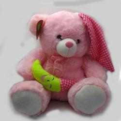 Pink Teddy Bear Soft Toy - (ARCH-269)