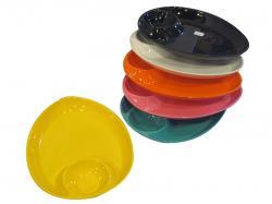 Plain Color Mo-mo Plate (GW-BP-007) - Per Pieces