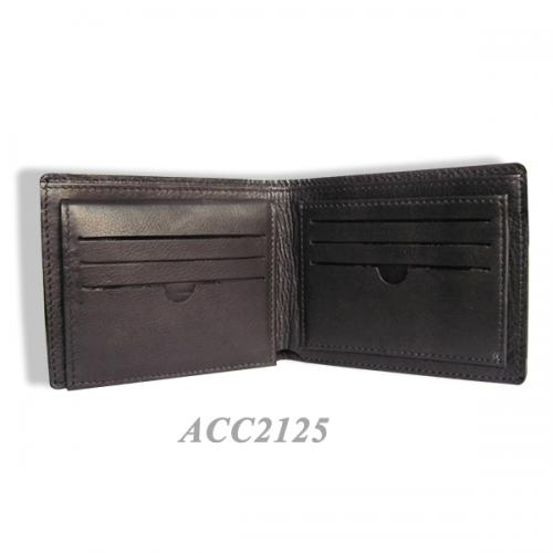 Printed & Rough Leather Wallet ACC2125