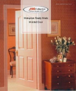 Ready Made Moulded Door 65CM - (HO-001)