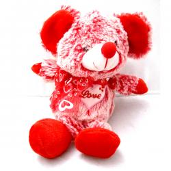 Red Teddy With Sound Box - (ARCH-443)