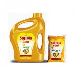 Saffola Gold Cooking Oil - 1 ltr, 2 ltr & 5 ltr