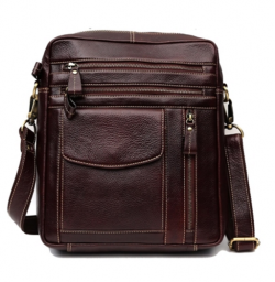 Genuine Leather Messenger Bag MBG199