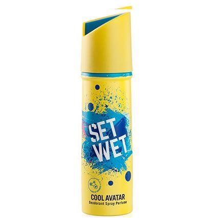 Set Wet Cool Avatar Deodorant Spray Perfume, 150ml