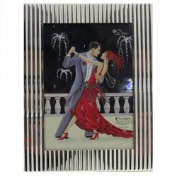 Silver Toned Elegant Poto Frame - (ARCH-292)