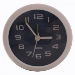 Simple Fashion Black White Alarm Clock (Small) - (TP-120)