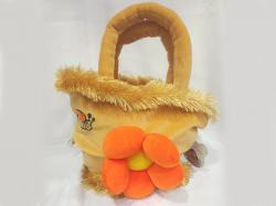 Soft Basket Bag Flower
