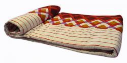 Squares Printed Summer Blanket - (GW-BK-021)