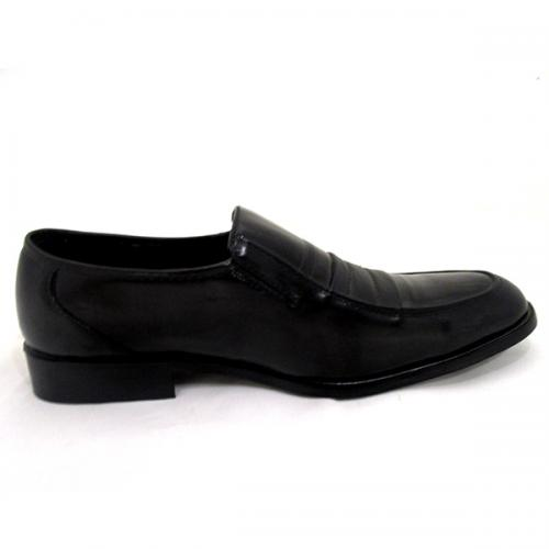 Stylish Black Formal Leather Shoes For Men - (SB-0003)