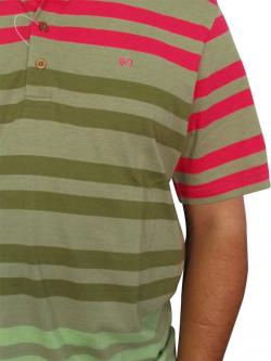 Stylish Polo Neck Casual T-shirts With Half Sleeve For Men - (T1013)