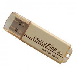 Team F108 USB 3.0 16GB Gold - (TF108316GD01)