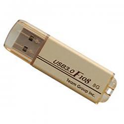 Team F108 USB 3.0 8GB Gold - (TF10838GD01)