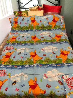 Teddy Printed Kid's Blanket - (GW-BK-046)