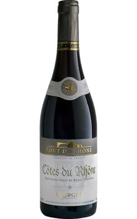 Terroirs Clerget Cotes Du Rhone 2011 - (GL-019)