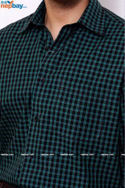 Urvan Valley Formal Check Shirt- Full Shirt, Slim Fit - (A0254)